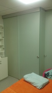 раздвижная дверь в перегородке 3