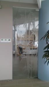 стеклянная матовая дверь пескоструйный рисунок