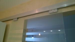 стеклянная сдвижная дверь 3