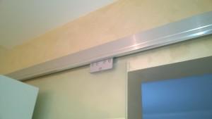 стеклянная сдвижная дверь 4