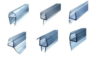 ф36 пвх уплотнители для стеклянных душевых дверей