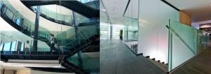 ф11 стеклянные ограждения триплекс