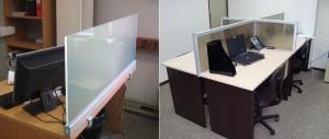 ф4 экраны из стекла на столы
