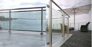 ф7 стеклянные ограждения